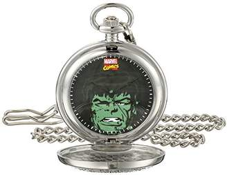 Marvel Men's Hulk W001747 Analog-Quartz Pocket Watch