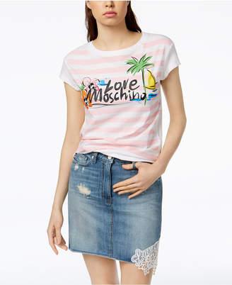 Love Moschino Beach Logo T-Shirt