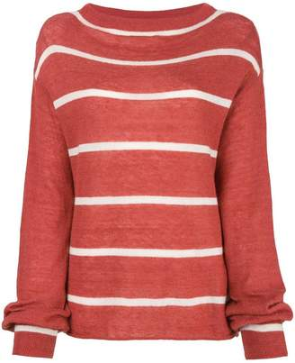 MiH Jeans striped jumper