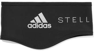 adidas by Stella McCartney Run Printed Stretch-fleece Headband - Black