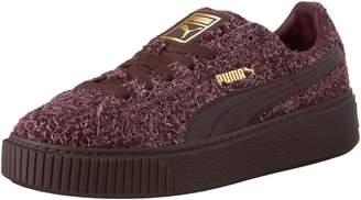 Puma Women's Suede Platform Elemental Running Shoe