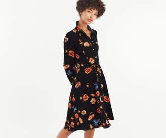 Oasis FLORAL SKATER SHIRT DRESS