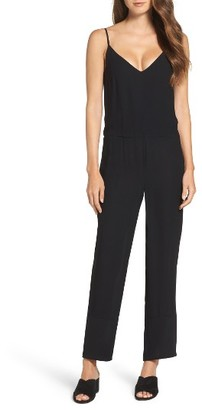 Women's French Connection Copley Crepe Jumpsuit $148 thestylecure.com