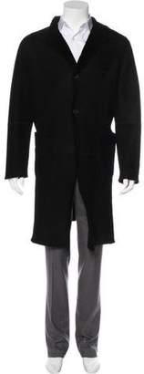 Prada Suede Long Coat