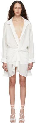 Jacquemus Off-White La Robe Alassio Dress