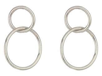 Dogeared Karma, Linked Circle Earrings