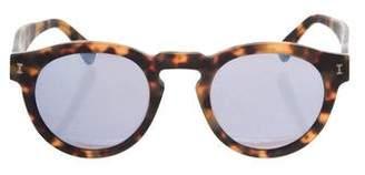 Illesteva Leonard Tortoiseshell Sunglasses