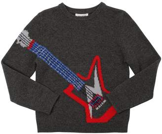 Zadig & Voltaire Guitar Intarsia Wool & Cashmere Sweater