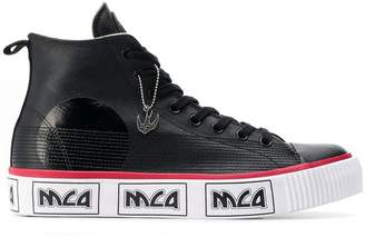 McQ hi-top sneakers