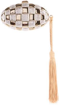 Judith Leiber Crystal-Embellished Clutch $695 thestylecure.com