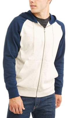 George Men's Fashion Full Zip Hoodie Up To Size 3Xl