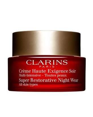Clarins Super Restorative Night Cream - All Skin Types, 1.6 oz./ 50 mL