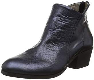 H By Hudson Women's Apisi Calf Metallic Ankle Bootie