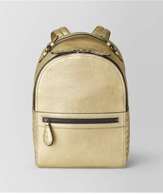 Bottega Veneta Backpack In Metallic Calf