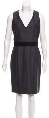 Proenza Schouler Wool Knee-Length Dress