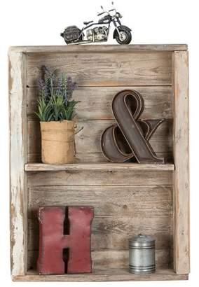 DelHutsonDesigns Reclaimed Wood Wall Shelf