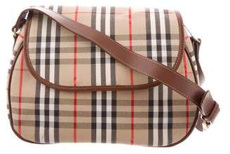 Burberry Haymarket Check Crossbody Bag