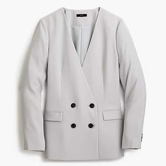 J.Crew French girl blazer in 365 crepe
