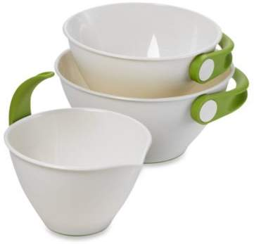 Chef'N Pop + PourTM 3-Piece Mixing Bowl Set