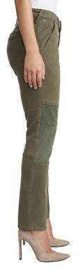 True Religion WOMENS PATCH UTILITY CHINO PANT
