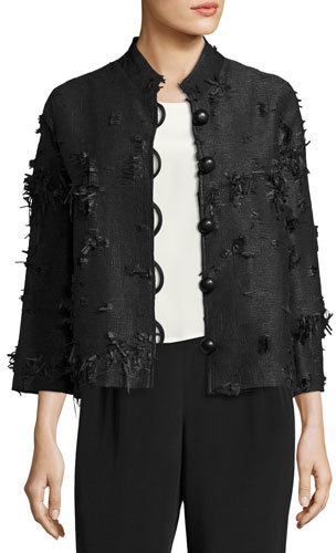 Caroline RoseCaroline Rose Made in the Shade Jacket, Black, Plus Size