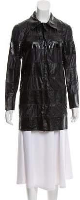 Lanvin Lightweight Leather Jacket