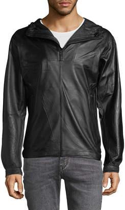 J. Lindeberg Broken 76 Leather Jacket