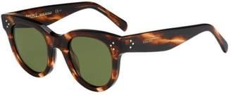 Celine 41053S 9RH Havana 41053S Cats Eyes Sunglasses Lens Category 3