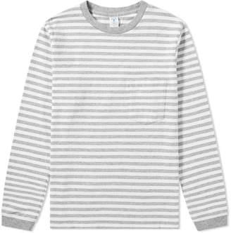Velva Sheen Long Sleeve Stripe Tee