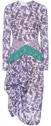 Preen by Thornton Bregazzi Sita floral-printed dress