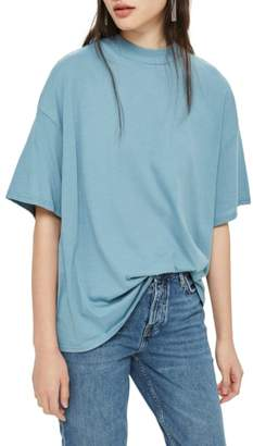 Topshop High Neck Tee