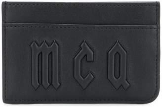 McQ logo cardholder