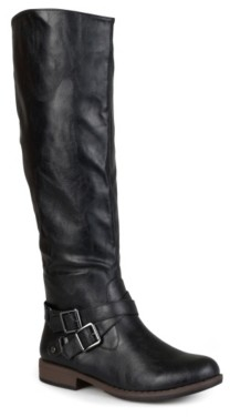 Journee Collection April Wide Calf Riding Boot