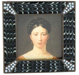 Jay Strongwater Embellished Square Picture Frame