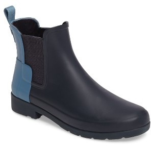 Women's Hunter 'Refined - Chelsea' Two-Tone Boot $145 thestylecure.com