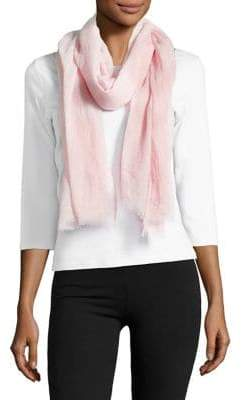 Lord & Taylor Classic Frayed Scarf
