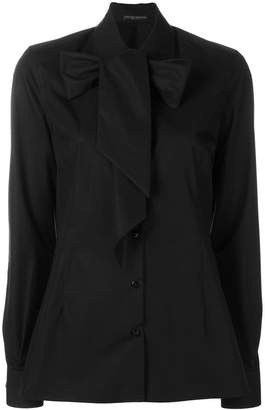 Ermanno Scervino pussy bow shirt