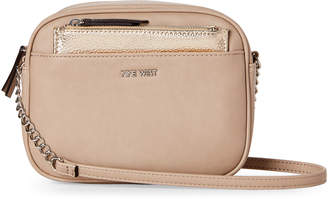 Nine West Mushroom & Platinum Lyndsie Crossbody