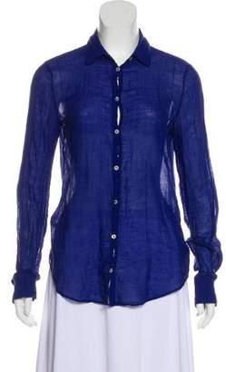 Shirt by Shirt Woven Button-Up Top