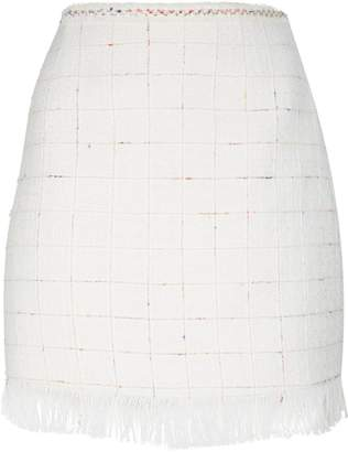 Claudie Pierlot Tweed Mini Skirt