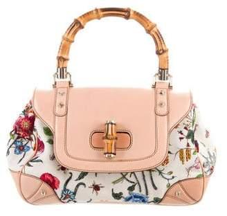 Gucci Top Handle Flora Bag