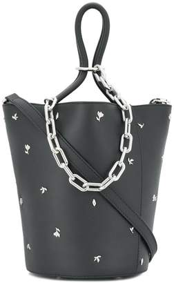 Alexander Wang Rose Studded Roxy Bucket bag