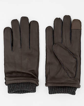 Le Château Leather Touchscreen Gloves