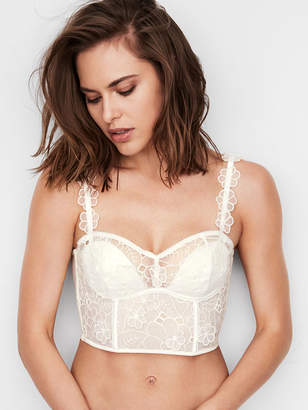 Victoria's Secret Dream Angels Petals Long Line Balconet Bra