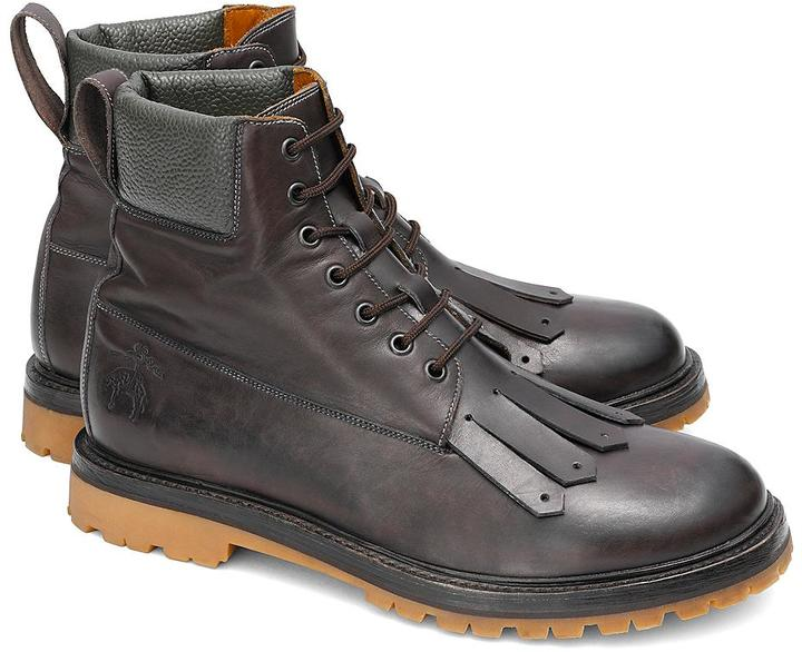 Brooks Brothers Kiltie Work Boots