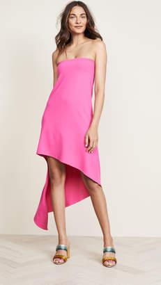 Susana Monaco Strapless Spiral Dress