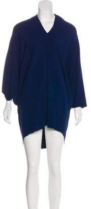 Lanvin Draped Knee-Length Dress