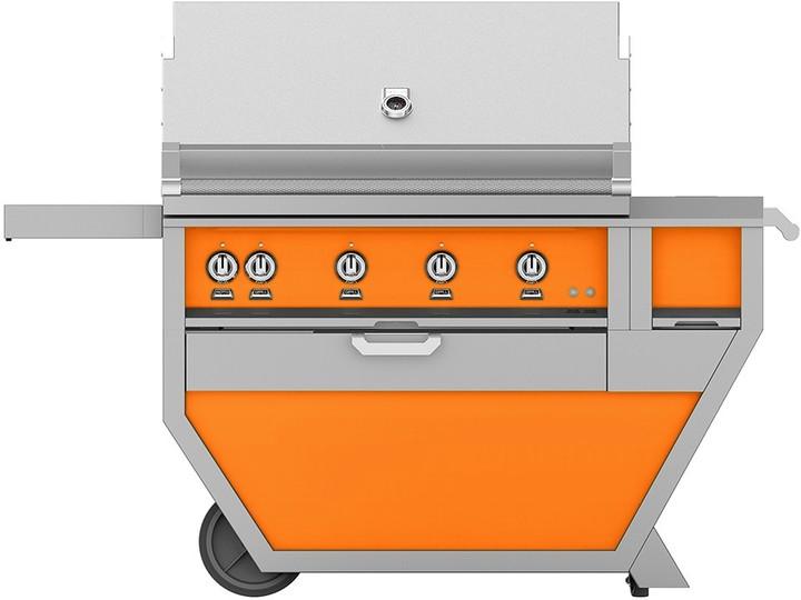 Hestan 60'' Grill with Worktop & Storage Drawer