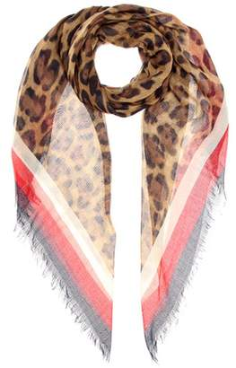 Gucci Silk-blend scarf