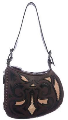 Fendi Selleria Oyster Bag Brown Selleria Oyster Bag